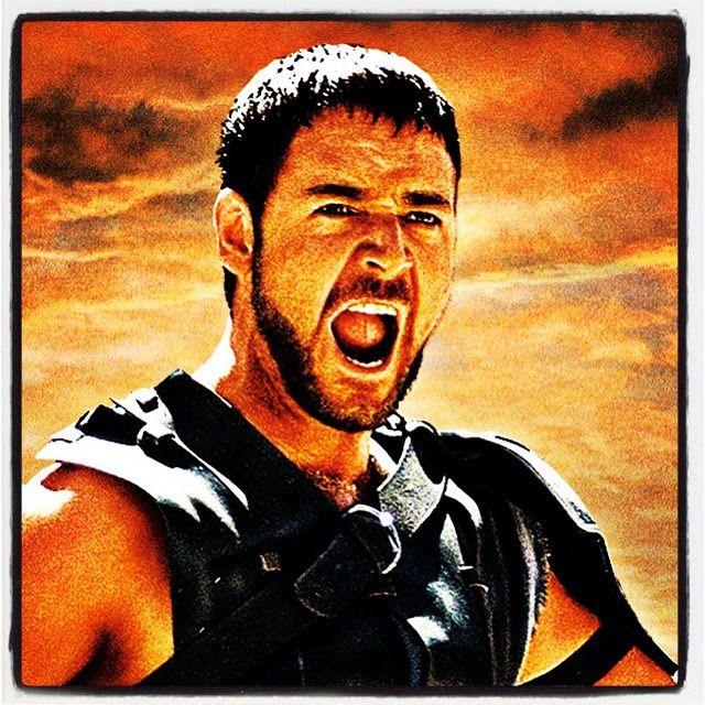 """""""Gladiator"""" """"Gladiador""""  """"Me llamo Máximo Décimo Meridio, comandante de los ejercitos del norte, general de las legiones Félix, leal servidor del verdadero emperador, Marco Aurelio…, padre de un hijo asesinado…, marido de una mujer asesinada y alcanzaré mi venganza en esta vida o en la otra."""" #movies #peliculas #films #cinema #pics #instagram #descartes #cine #russellcrowe #gladiator #gladiador #frases #quotes"""