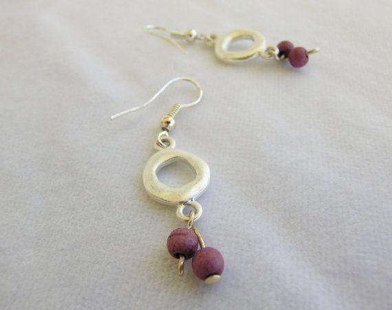 https://www.etsy.com/listing/220535517/round-matte-silver-hook-earrings-dangle
