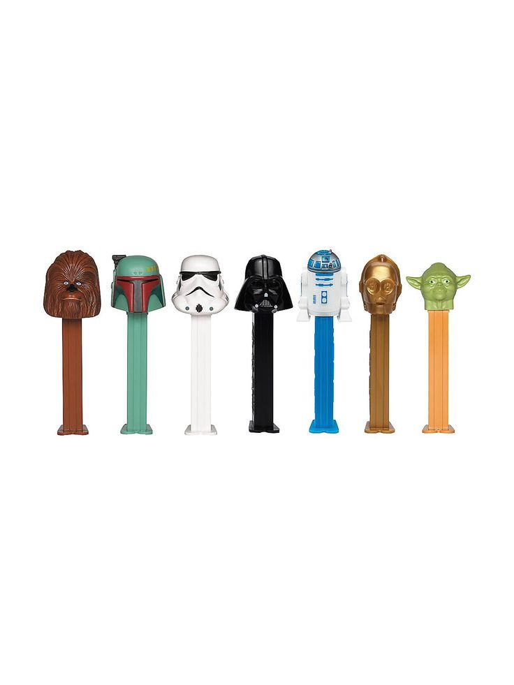 Star Wars Pez Dispenser and Candy Set - Party Supplies