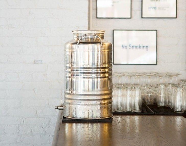 Superfustinox Stainless Steel Water Dispenser: Remodelista