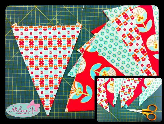 craft ideas for beginners bunting sewing project for beginners craft ideas 3812