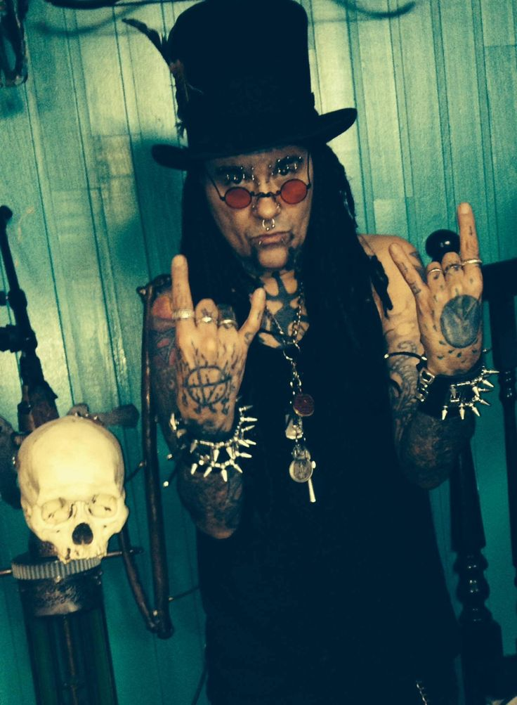 Al Jourgensen of Ministry. The only one who evolves in sexiness like he does is him. He is in a class of his own all across the board. Those are the best kind.