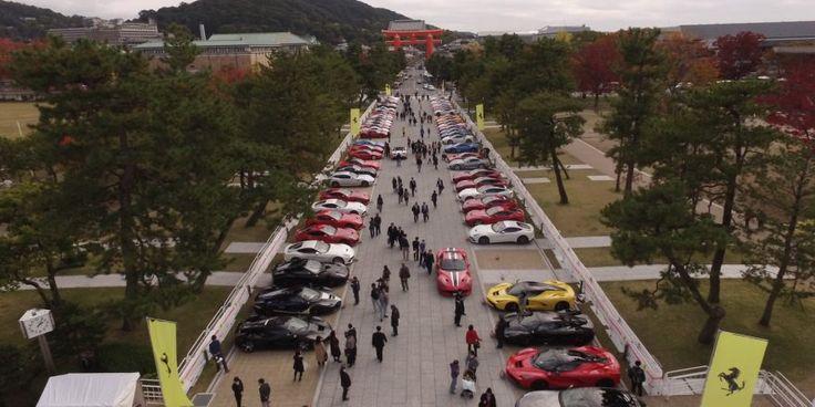 Le Japon accueille le Ferrari Cavalcade 2016