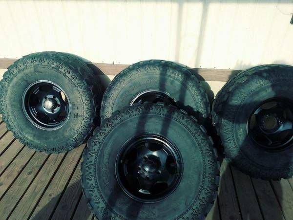 SUPER SWAMPER TIRES – auto parts – by owner