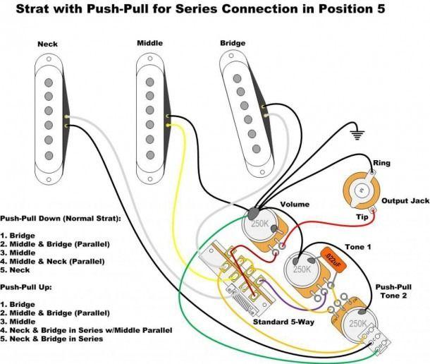 Fender Stratocaster Wiring Diagram Fender Stratocaster Fender