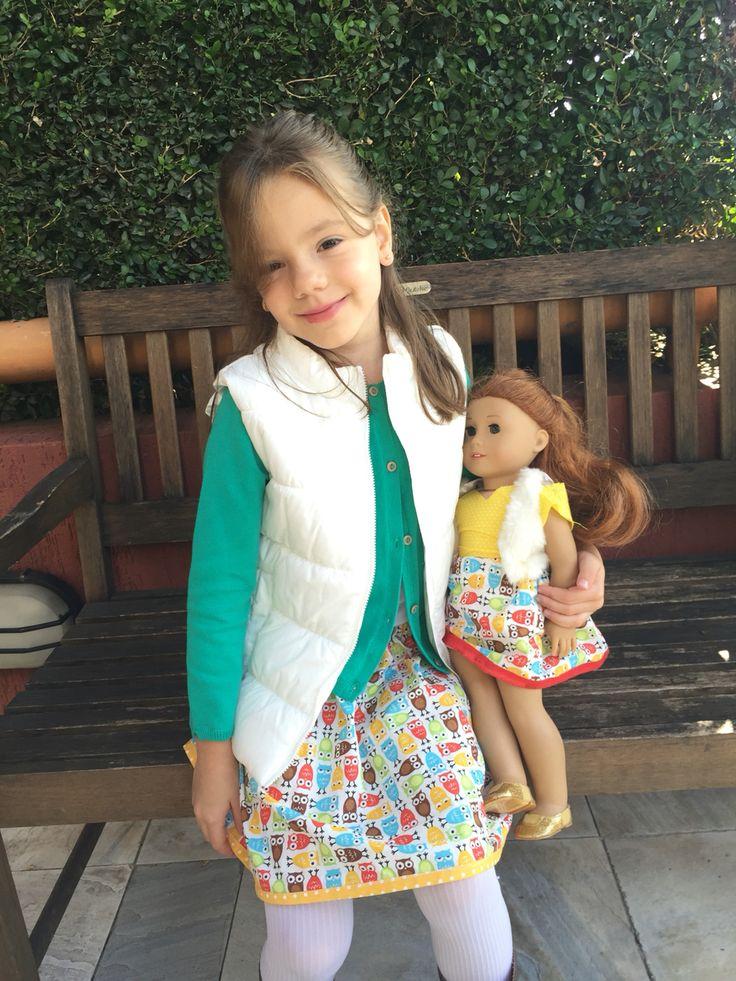 Saia menina e boneca! Em elo7.com.br/panosetal