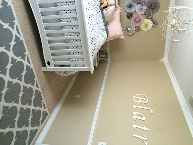 A neutral girl's room with pops of purple: Blair Toddlers, Toddlers Rooms, Girls Bedrooms, Dream House, Neutral Girls, Big Girls, Toddlers Bedrooms, Big Statement, Girls Rooms