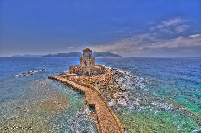Castle of Methoni, Peloponnese, Greece by Stavros. A, via Flickr