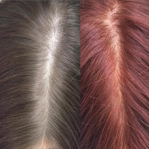 Haare farben in der ss mit henna