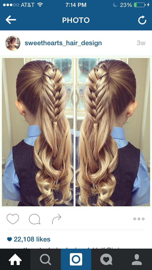 Sweetheart hair designs