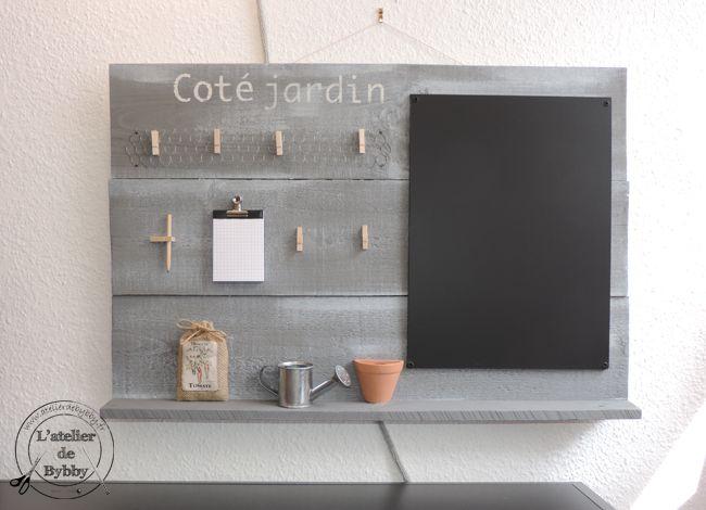 Les 8 meilleures images du tableau l 39 atelier de bybby sur pinterest bonjour atelier et l atelier for Ardoise cuisine deco