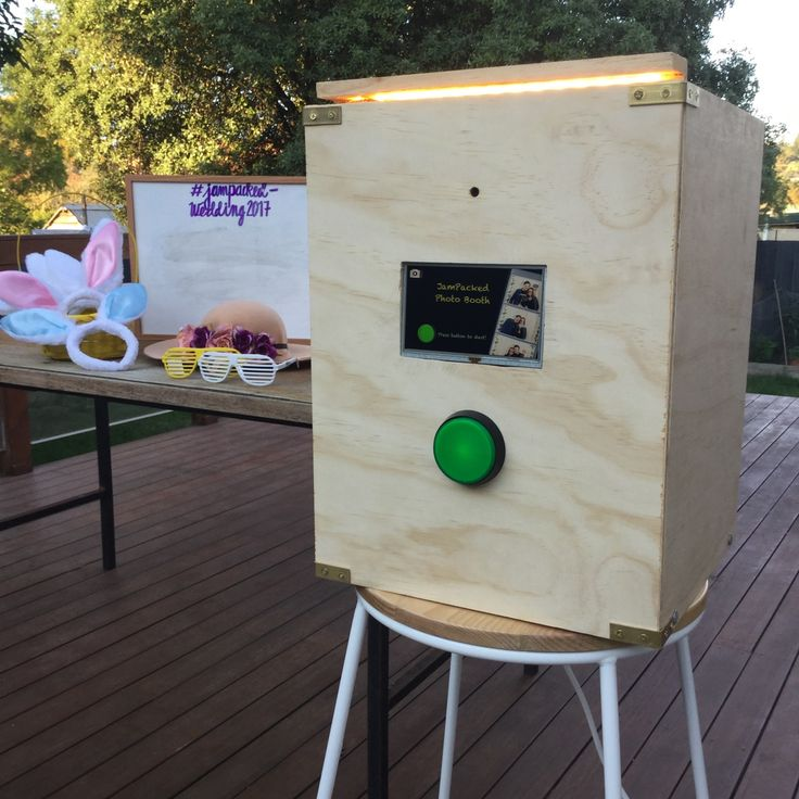 How to build a Photo Booth   Photo booth setup, Photo ...