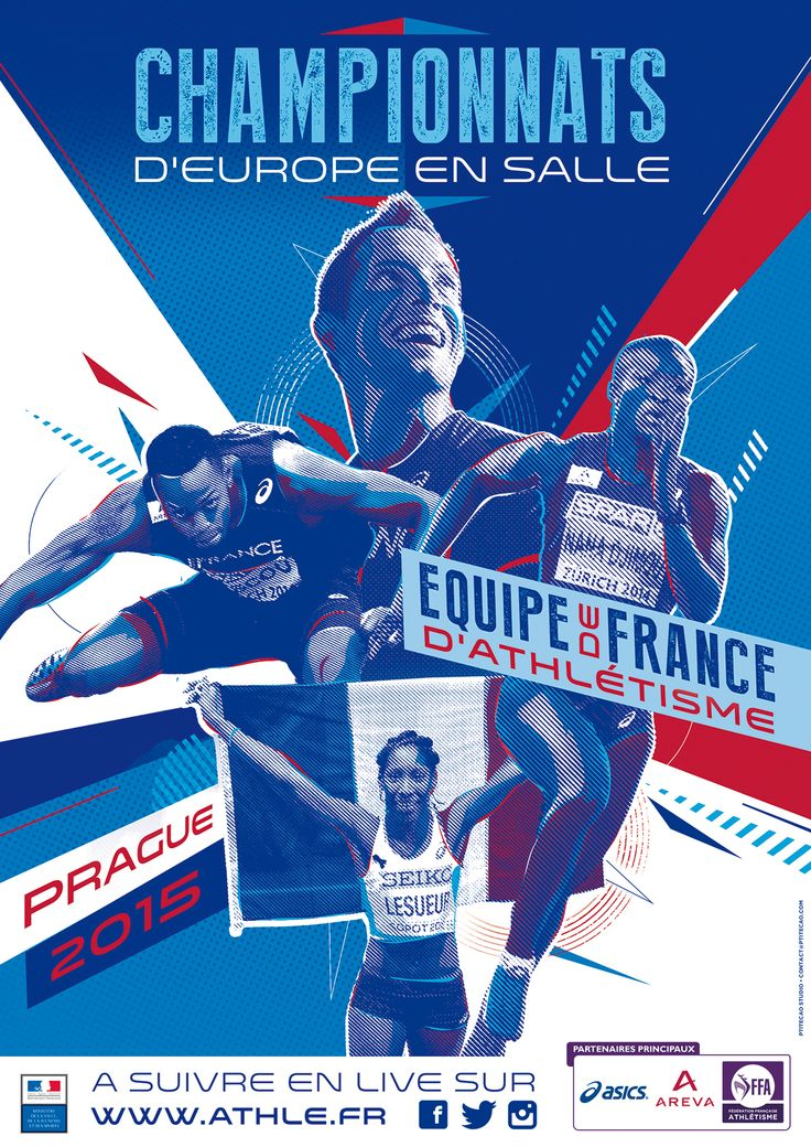 Athletics Poster Events - FFA on Behance