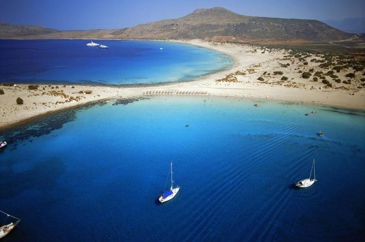 The beach of Simos!