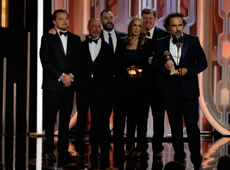 The Revenant from Golden Globes 2016 Winners! Best Picture, Drama