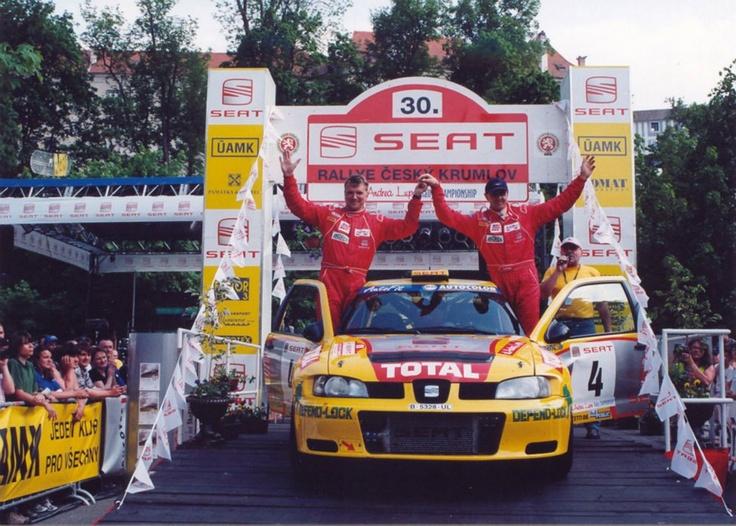 Emil Triner-Jaroslav Hůlka. SEAT Córdoba WRC. Czech Rally Championship 2002