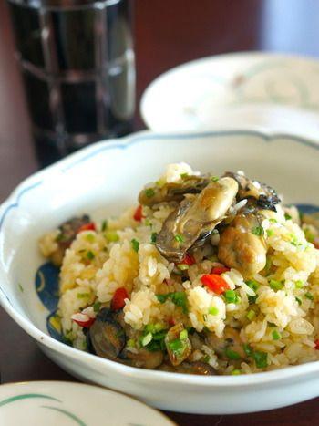 旬の牡蠣は濃厚&クリーミー♪おつまみもメインも「牡蠣のレシピ」大 ... 牡蠣のオイル漬けを使って、チャーハンにしても美味♪保存食