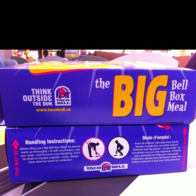 Taco Bell Big Box Meal