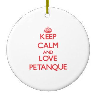 Petanque Ornaments, Petanque Ornament Designs for any Occasion