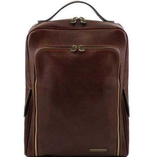 bangkok - leather laptop backpack