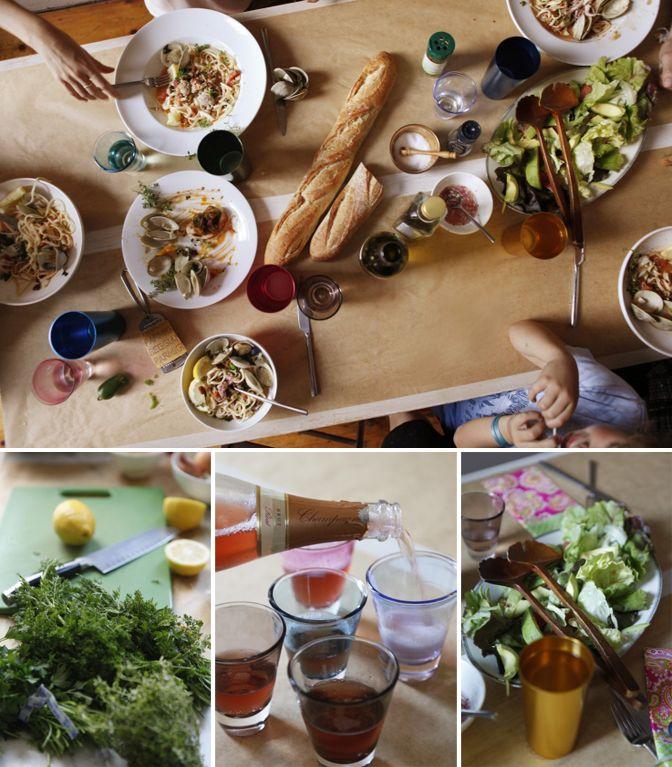 Kinfolk.: Party'S, Food, Dinners, Dinner Parties, Dinner Party, Table Setting, Simple Dinner, Party Ideas