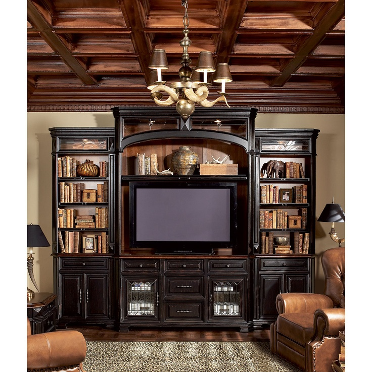 Rc Willey Aspen 6 Piece Entertainment Wall Unit