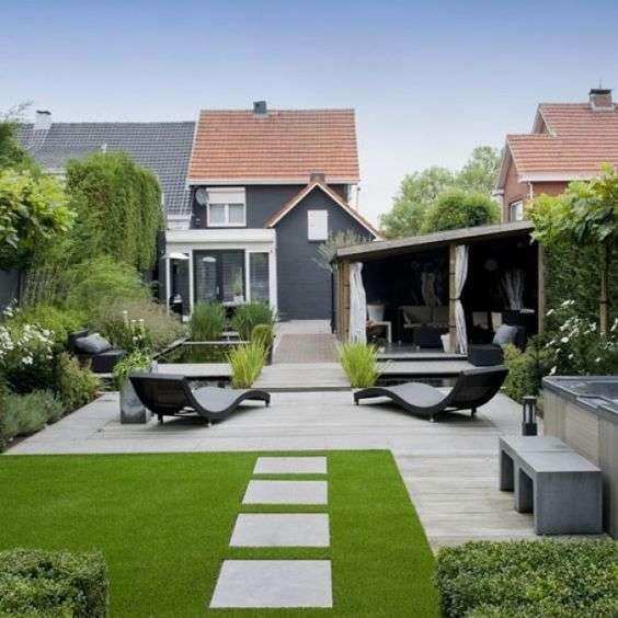 Exceptionnel Oltre 25 fantastiche idee su Progettazione di un giardino moderno  ZL37