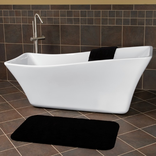 68 Amick Freestanding Acrylic Slipper Tub For The Home