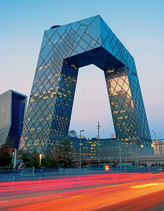 CCTV building, OMA, Beijing, 2008. Photo: Songquan Deng http://www.architecturaldigest.com/