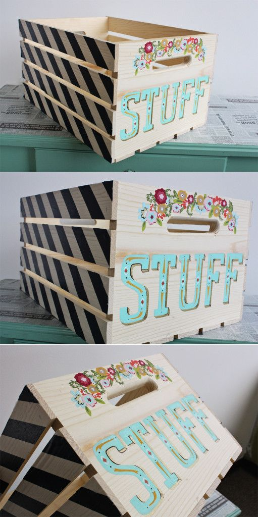 Wood Crate 8 easy ways to