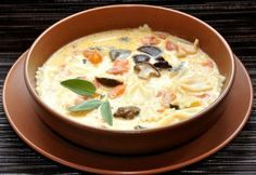 Суп с пастой по-милански