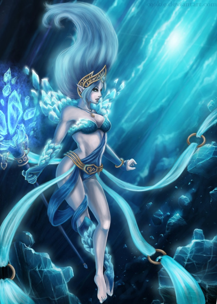 Frost Queen Janna by c96kie.deviantart.com on @deviantART ...