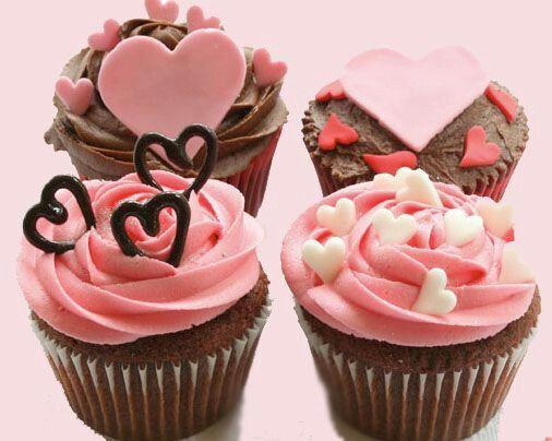 Cupcake gibi tatlı bir kalbin olsun