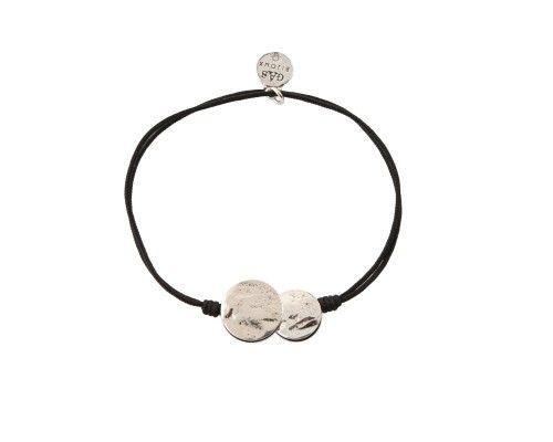 Gas Bijoux Platine bracelet -- Black