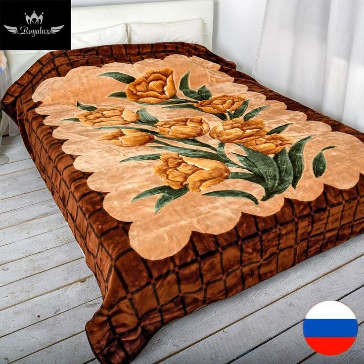 ROYALUX Home Textiles Bedspread  King Size Ship From Moscow/Russia Quilted  Europe Style Throw Blanket Warmly