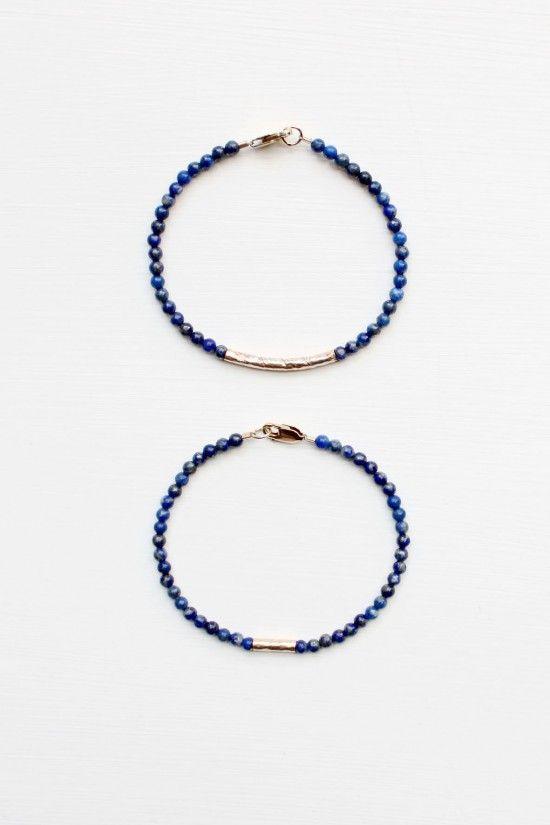Lapis Lazuli Bracelet Set