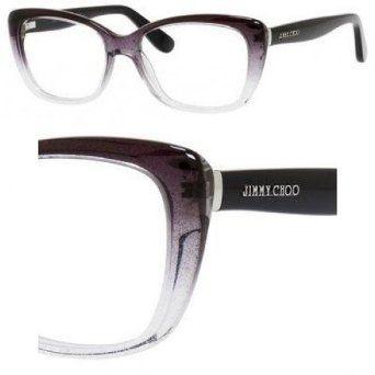 ae469294818f JIMMY CHOO Eyeglasses 88 02Py Black Gray Glitter 53MM   Eyewear   Jimmy  choo sunglasses, Jimmy choo, Eyeglasses for women