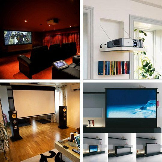 Tech 101:  A Crash Course in Home Theater Projection Screens
