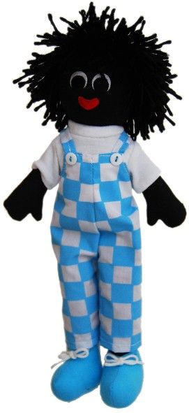 Sammy Golly Doll - 30cm http://www.thelookathome.com.au/shop/item/sammy-golly-doll-30cm