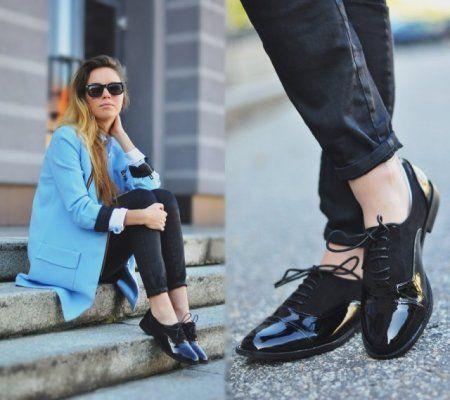 Oxford shoes- więcej na stylizacje.pl