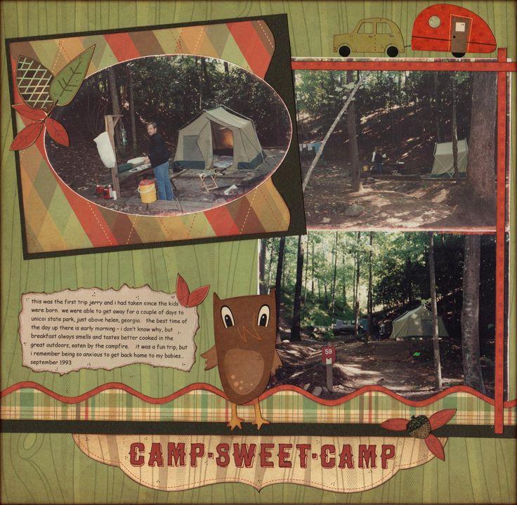 camp - sweet - camp - Scrapbook.com | Scrapbook ...