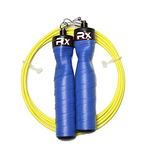 Rx Jump Rope- Bionic Blue with Neon Yellow Cable