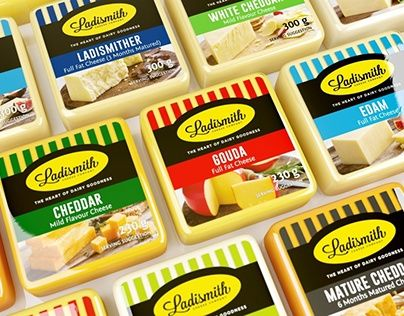 """Check out new work on my @Behance portfolio: """"Ladismith Cheese"""" http://be.net/gallery/52919939/Ladismith-Cheese"""