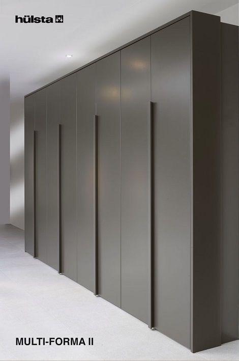 HULSTA Multifoma II draaideurkast, acht deuren Kleur: anthracite grijs, meer kleuren mogelijk acht deuren,modern design A, paspartoe
