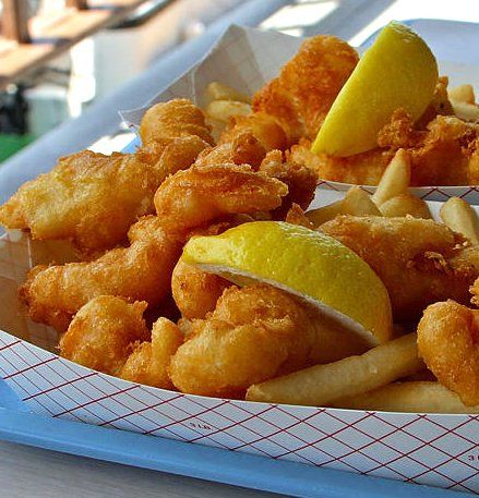 So not really healthy but hey I live in Wisconsin Friday night fish fries are a must a least once or twice a year. I spend a day making a freezing fried fish and chicken.
