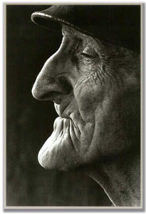 Wonderful profile! Marcel Imsand Portrait de Milet: un homme d'intérieur