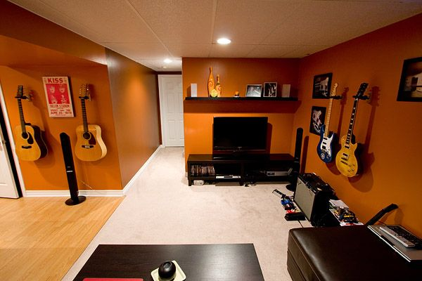 living room tv setup curtain design post pictures of your creative space/music - page 5 ...