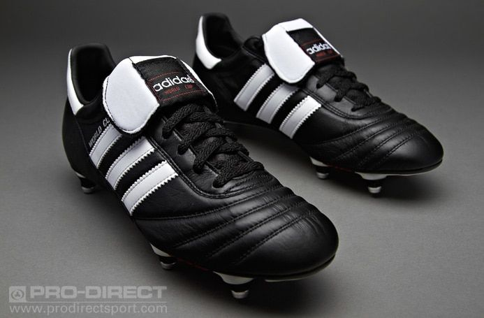 Adidas World Cup Sg Mens Boots Soft Ground Black White Pro Direct Soccer Botines