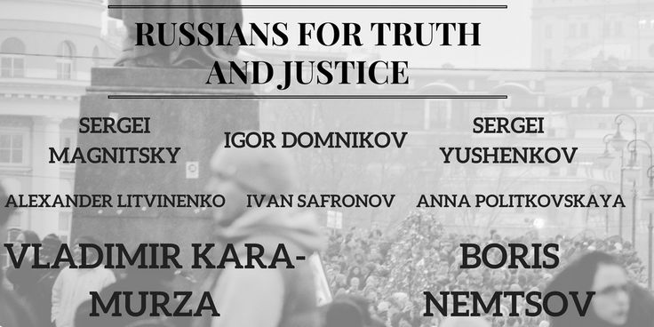 John McCain @SenJohnMcCain  Feb 7  Like Boris Nemtsov, Sergei Magnitsky & many others, Vladimir Kara-Murza has risked his life defying Putin's tyranny