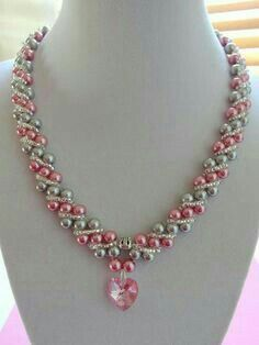 9d942f585f7b Collar perlas colores